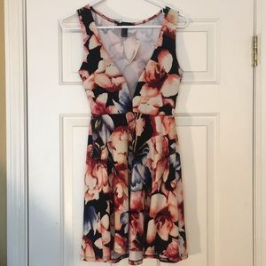 Floral Dress-Forever 21-Never Worn